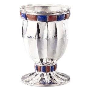 ブチェラッティ 銀製 花瓶 ドージェ