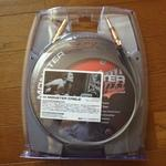 Monster Cable M ROCK-12A ギター用シールド 届きました。