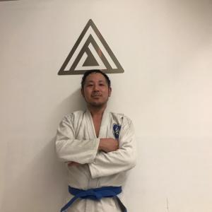 永江さん、青帯に昇格♪