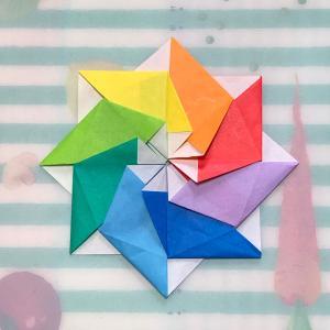 ユニット折り紙 今度はぴゅんぴゅん1号