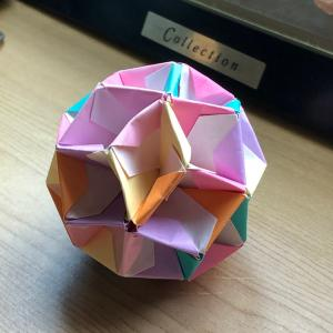 ユニット折り紙 ダイヤモンド
