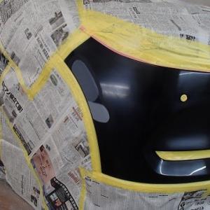 バンパー補修塗装(CX-8)