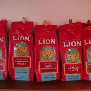 ハワイのお土産 ライオンコーヒー