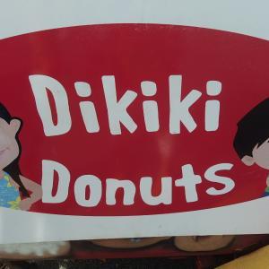 土・日はデデドの朝市へ Dikiki ドーナッツ