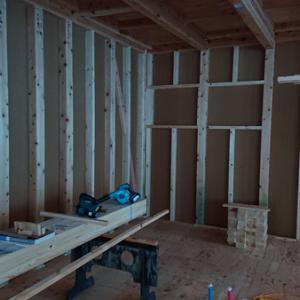 耐力壁 お家新築 その32