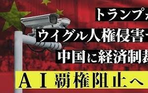 トランプがウイグル人権侵害で中国に経済制裁。AI覇権阻止へ!(釈量子)