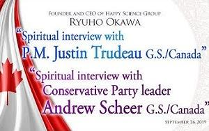 Spiritual Messages from Justin Trudeau & Andrew Scheer (Canada Elections 2019)