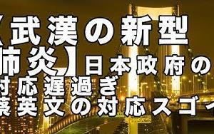 【武漢の新型肺炎】日本政府の対応遅過ぎ 蔡英文の対応スゴイ【及川幸久−BREAKING−】   日本の政治麻痺状態!こんな政治を国民は許してはいけません!