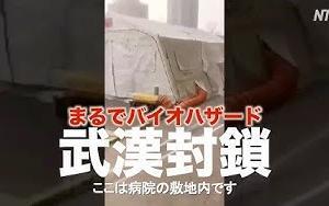 1月23日武漢「封鎖」病院ー駅ー空港の様子|新型肺炎|新型コロナウイルス|中国NOW      NTDTVJP   バイハザード・・・。