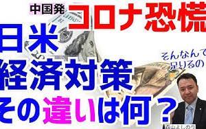 【中国発コロナウィルス恐慌!日本は真水15兆円で足りるのか?】米国GDP 10%220兆円!英国政府が給料の8割肩代わり!独も90兆円GDP 20%以上!日本経済を守るべく消費減税を!真水を増やす!