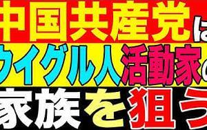 2021.7.30【ウイグル】世界で声を上げるウイグル人活動家 中国共産党は彼らの家族親戚を拘束して黙らせる戦略【及川幸久−BREAKING−】