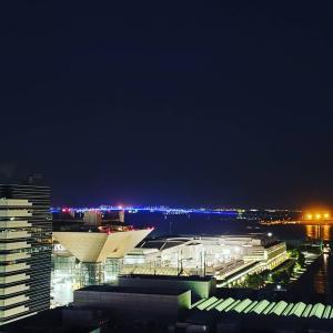 都内の通勤電車が弱点、現地徒歩3分へ前泊、ビューティーワールドジャパン2021。徒歩は...