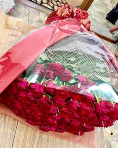 108本 バラ花束‼︎