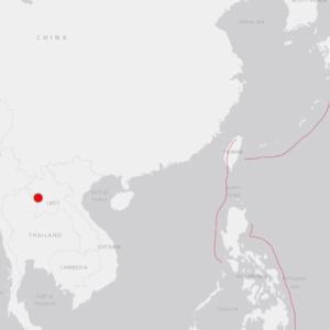 タイ・ラオスの地震と伊豆地震