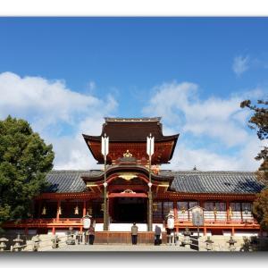 2020年の初詣は、石清水八幡宮に行ってきました。