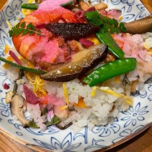 初物ばかりのちらし寿司