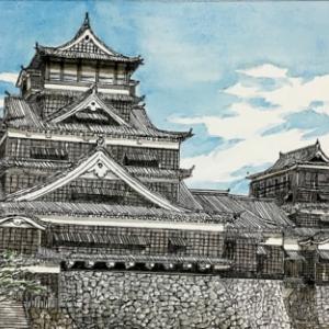 熊本城の面影