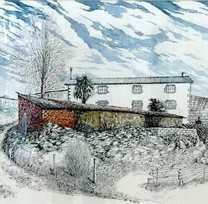 バルセロナの田舎風景
