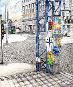 ヘルシンキの街頭