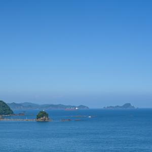 真夏の海・・