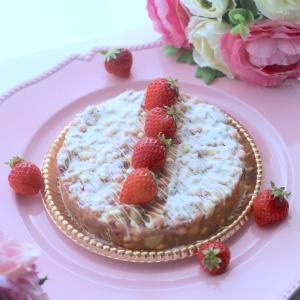 次回《動画レッスン》ストロベリーチョコレートビスケットケーキ