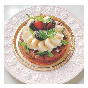 【 間違いなくおいしい】大好評のチョコバナナのダコワーズケーキ