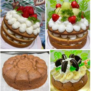 《動画レッスン通信講座》受講者さんのケーキ をご紹介♡