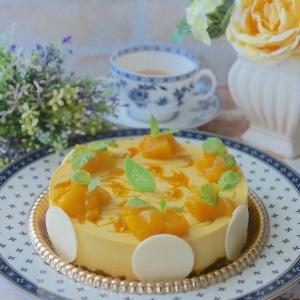 『マンゴーのレアーチーズケーキ』おめかし Part2