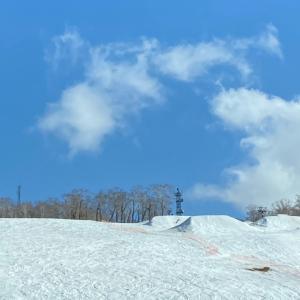 スキー62回目 シーズンラストスキー中山峠