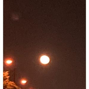 お月様とご褒美