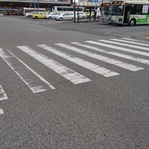 落とし穴がある徳島駅前