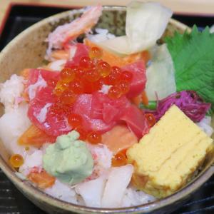 新札幌 小松水産の海鮮丼 数量限定の海鮮ちらし
