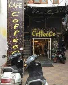 デリーのカフェ ~コーヒーコ~ (パハール・ガンジ)
