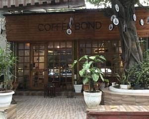 デリーのカフェ ~ コーヒー・ボンド ~(ウダイパーク)