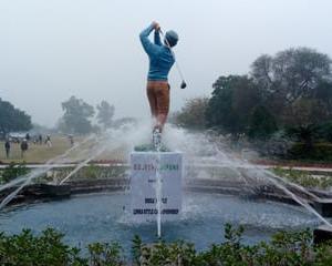 インドでゴルフ、122回目。