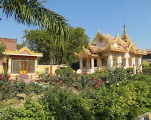 【インドの寺院】 ~ ミャンマー寺院~ (サンキッサ)