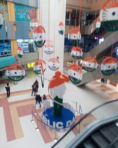 インド共和国記念日。
