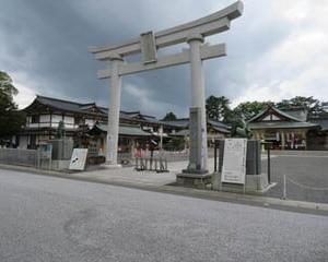 護国神社。