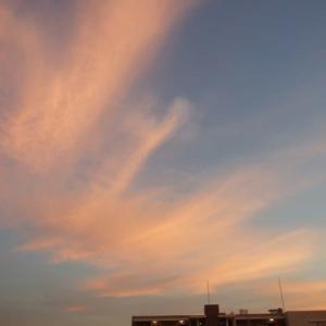 跳ねる夕空
