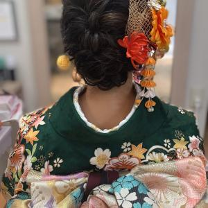 成人式前撮り撮影♡久保田