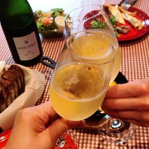 シャンパーニュで乾杯!