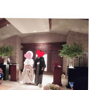 笑顔( =^ω^)弾ける♥️結婚式❇️(初めての経験)