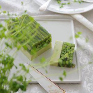 4月Cレッスン*緑のテリーヌ 他*おもてなし料理教室 ルセット・ボヌール