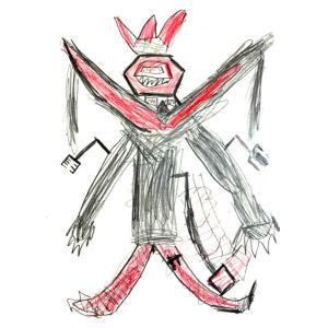 子供の絵をオープンシーでNFTアート出品