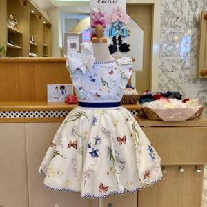 おしゃれな子供服が50%オフ!モナリザフラワー蝶ドレスのご紹介!