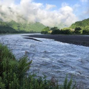 VOL.358  大雨で増水