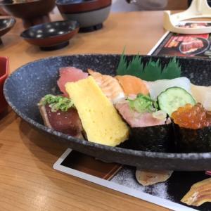 くら寿司にてランチ