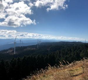 青山高原と曽爾高原*