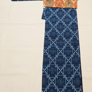 琉球の紬~型染めの名古屋帯 セール~