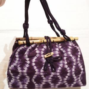 紫根の巾着~深く美しい紫根色~